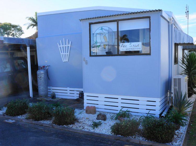 Onsite Caravan on the Sunshine Coast