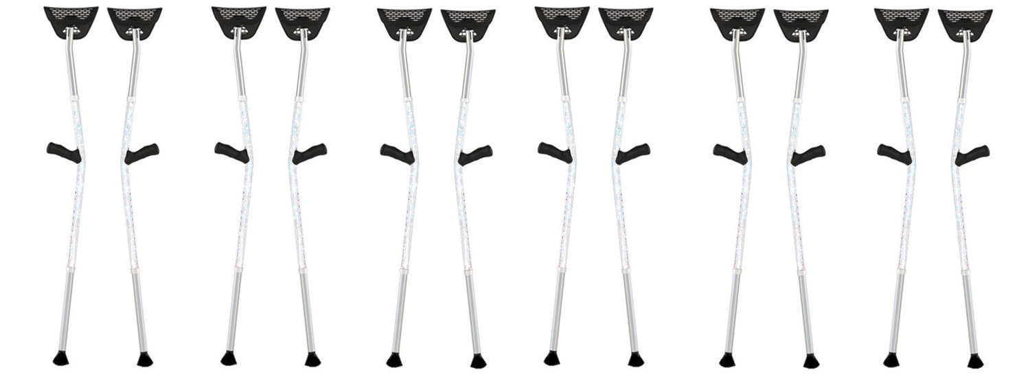 Why Is Everyone Talking About Luxury Crutches?